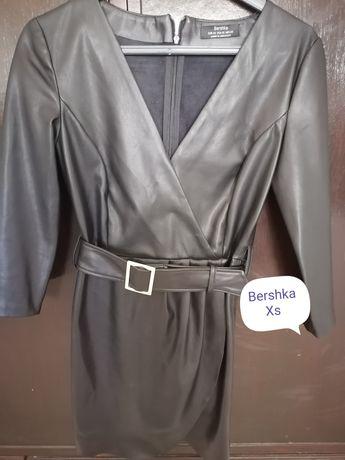 Vestido de napa Bershka Xs
