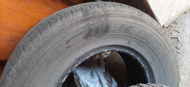 Всесезонные шины резина 265 70 r16 бу mitsubishi pajero wagon цена 189