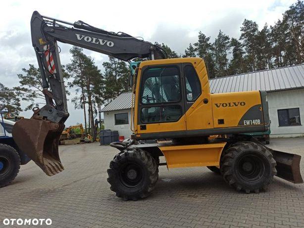 Volvo EW140B  Koparka kołowa bardzo dobry stan techniczny Sprowadzona
