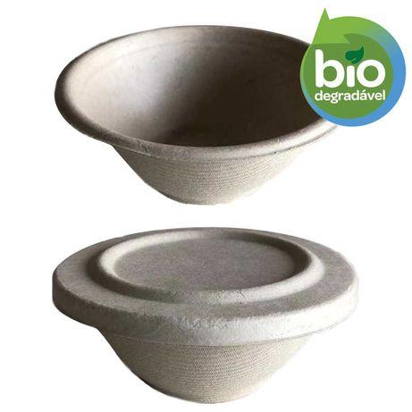 Taça Salada Take-away 200ml - 50 un. - biodegradáveis