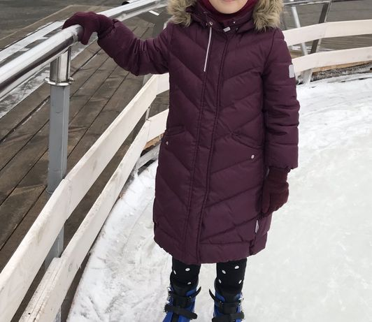 Пуховик Reima 116 р (6-7 лет),зимнее пальто,зимняя куртка