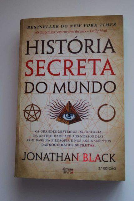 """livro- """"História secreta do Mundo"""" (com portes incluídos)"""