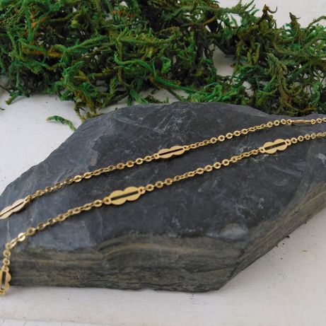 Złoty łańcuszek,  złoto  333, 60cm