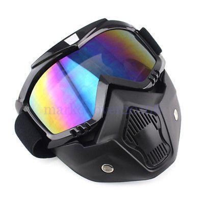 Mascara mota para capacete nova