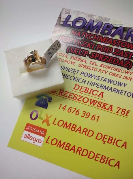 Złoty pierścionek PR.585 Waga 4,44g r.9 ! Lombard Dębica