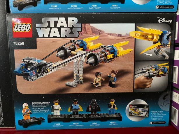 LEGO Star Wars Ścigacz Anakina edycja rocz. 75258 Łódź