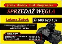 Węgiel Polski, Import. Transport od 1t gratis 10km, Kozienice, Pionki