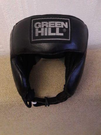 Срочно продам Боксерский шлем   Green hill, кожа, р.М