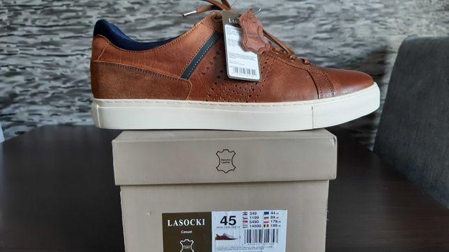 LASOCKI FOR MEN NOWE Sneakersy(45) !!!