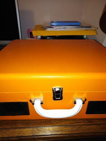 Gramofon cd auna peggy Sue pomarańczowy
