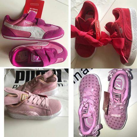 кроссовки ,кеды обувь Puma Nike Adidas оригинал Puma kids! 25_34рр