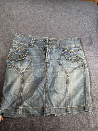 Отдам джинсовую юбку