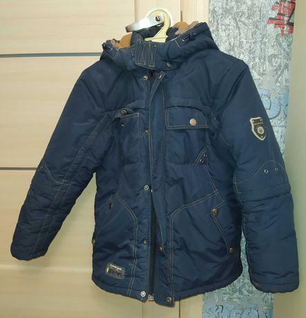 Зимняя куртка Кико 146 рост самовывоз