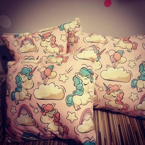 Poduszki Jaśki w jednorożce