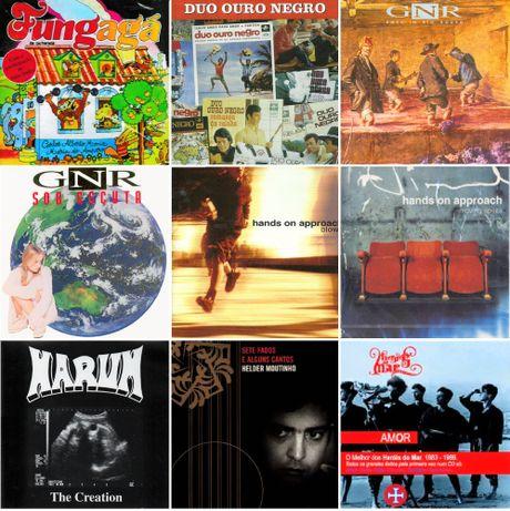 CDS – Música Portuguesa – Raros - Como NOVOS