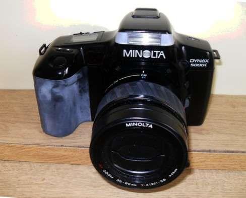 Minolta Dinax 5000i, analógica, impecável