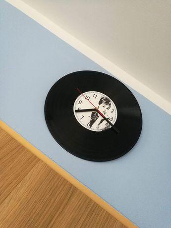 Zegar ścienny z wizerunkiem Audrey Hepburn