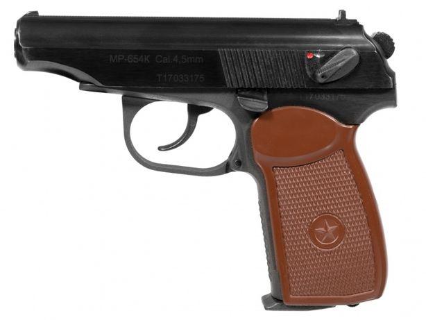 Pistolet wiatrówka Baikał MP-654K-20 Makarov 4,5 mm BB CO2