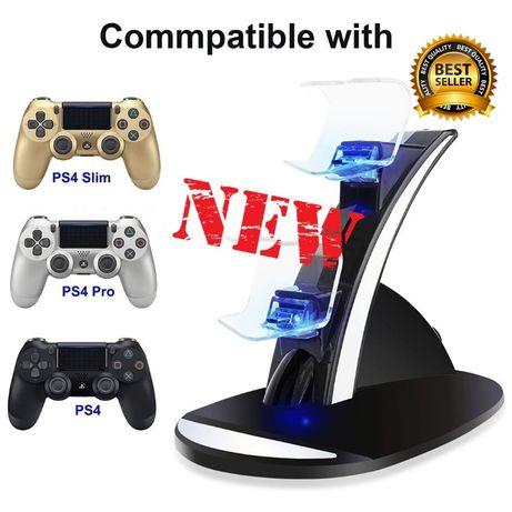 Sony PS4/Slim/Pro PREMIUM Зарядное Устройство-Подставка для Геймпадов