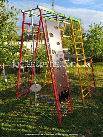 Горка, Качели,  Игровая детская площадка, спортивный комплекс