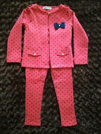 Детский утепленный (флис) костюм (кардиган и брюки) Wanex, p. 110 см