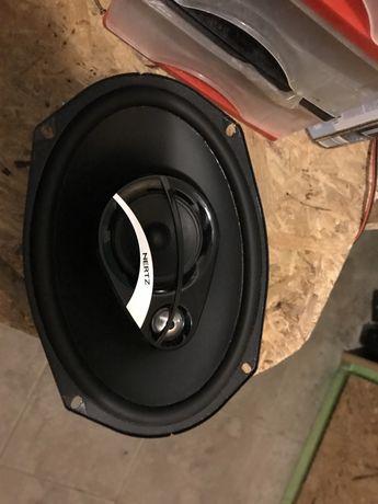 Zestaw 4 głośników Hertz do samochodu