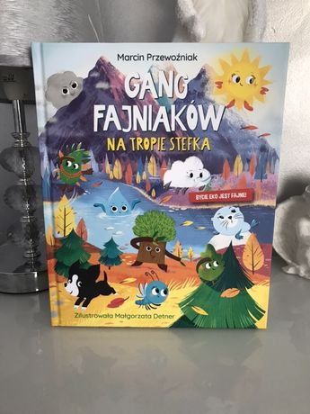 Gang Fajniaków część 3 Książka z biedronki dla dzieci