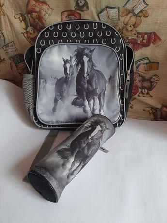 Детский рюкзак и пенал, куплены в Польше