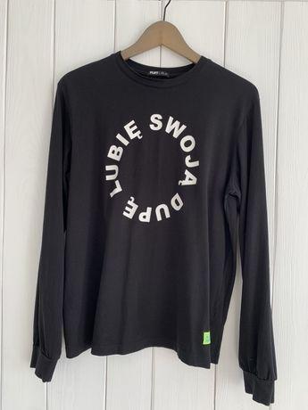 PLNY LALA LUBIĘ SWOJĄ DUPĘ longsleeve, koszulka z długim rękawem S