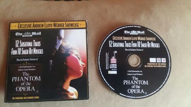 CD - Upór w Operze - The Phantom of the Opera