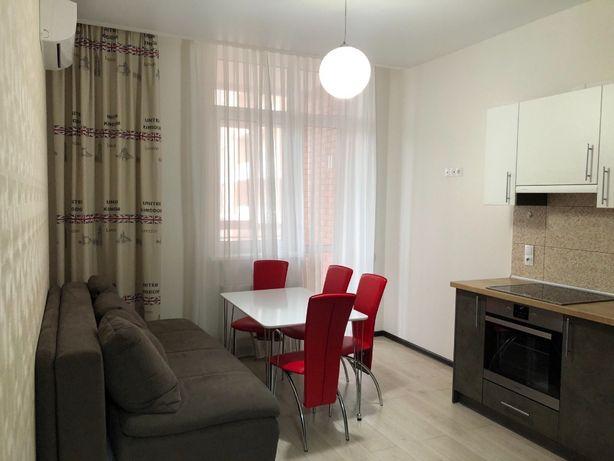 G 1 ком.Квартира в Аркадии в Новом доме с ремонтом и мебелью.