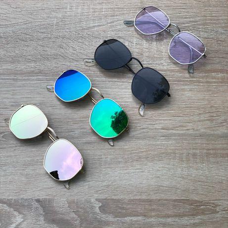 Очки сонцезащитные женские мужские унисекс с защитой от ультрафиолета