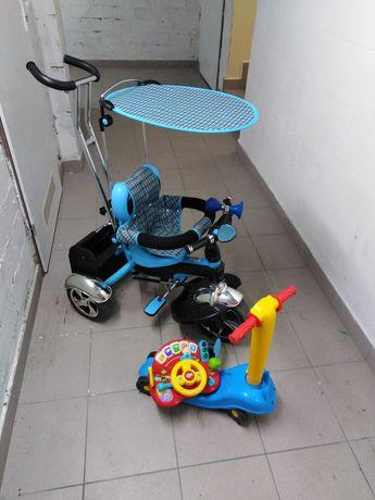 Rowerek trójkołowy baby mix 3w1