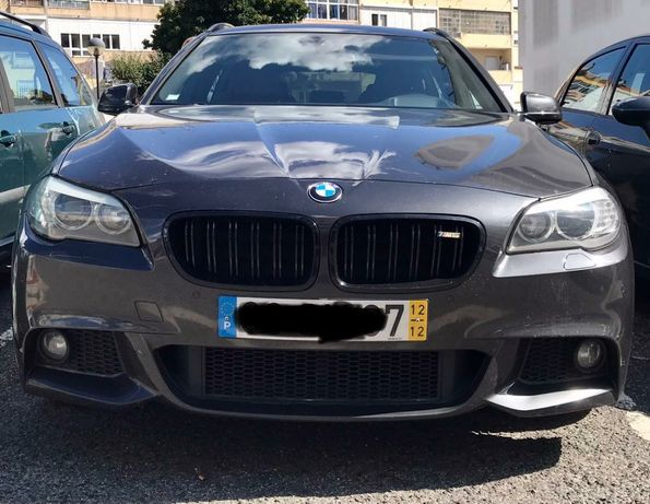 BMW 520d f11 M full extras revisões na Marca