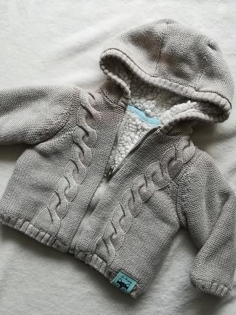 Gruby ciepły sweter sweterek na misiu 62 smyk cool club