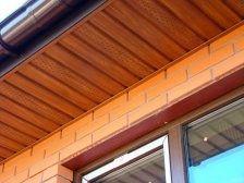 Софіт (підсофіт, сайдинг) для підшивки даху Аско Asko золотий дуб