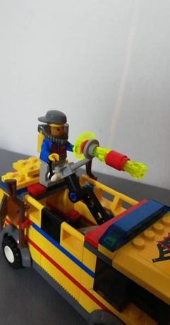 Zestaw klocków Lego - 7891 LOTNISKOWY WÓZ STRAŻACKI