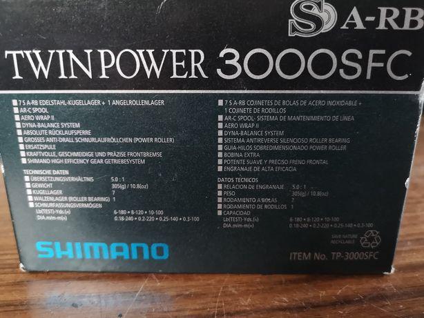 Twin pawer 3000sfc kołowrotek