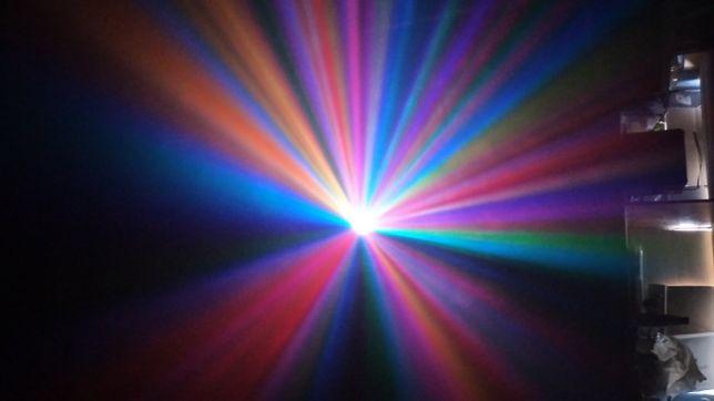 Colorstage LED mały Efekt świetlny , flower,lampa dyskotekowa, 2 sztuk