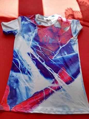 Koszulka spiderman siłownia rower M :)