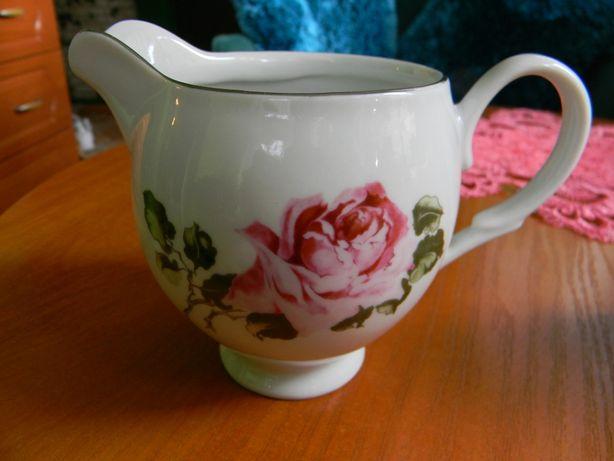Porcelana mleczniki zestaw Karolina Silesia