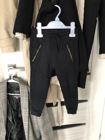 Spodnie zara 98 czarne