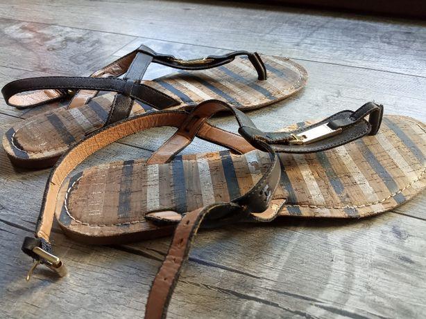 Sandały japonki TOMMY HILFIGER, buty damskie
