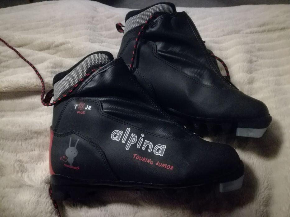 Buty narciarskie biegowe dzieciece alpina rozmiar 35 Łódź - image 1