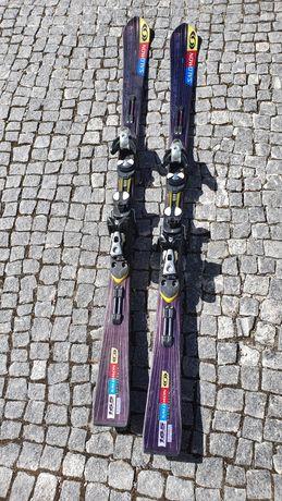 Salomon Streetracer 10 Skis + Salomon S912 Ti Bindings