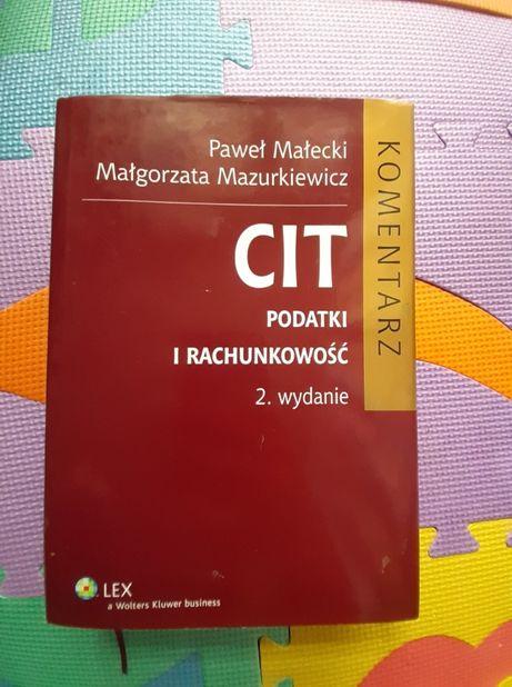 CIT Podatki i Rachunkowość Książka podręcznik Nowy