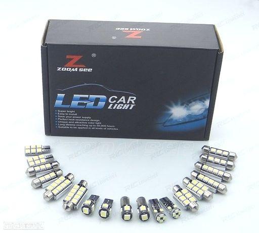 KIT COMPLETO DE 17 LÂMPADAS LED INTERIOR PARA AUDI A A6 S6 RS6 C7 AVANT WAGON (2012 +)