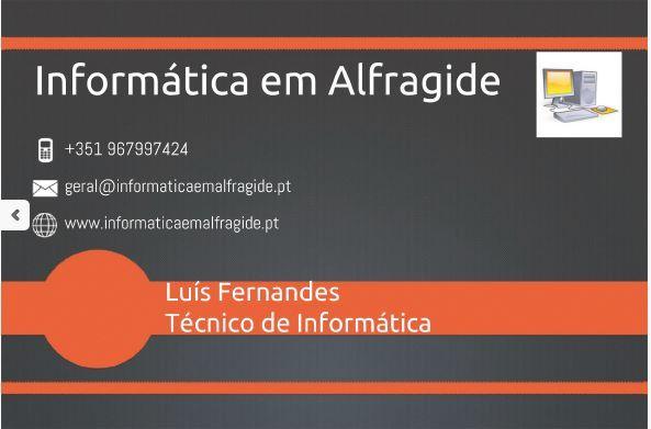 Serviços de Informática-Técnico certificado