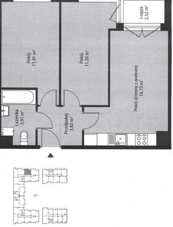 Piasta Kołodzieja Park IV - nowa inwestycja - 47,72 m2