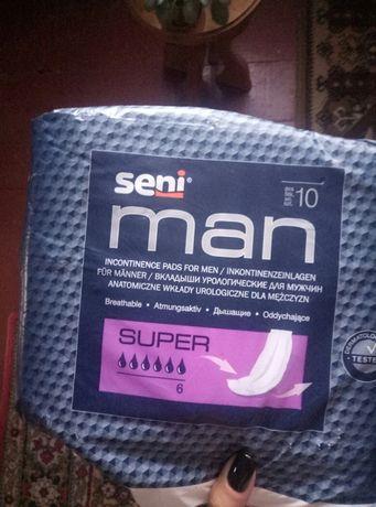 Урологические прокладки мужские